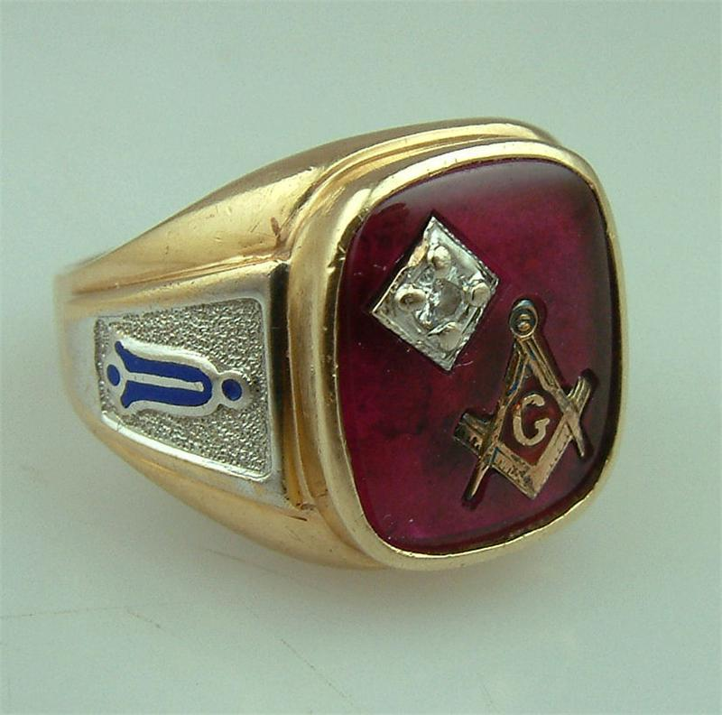 The Gallery For Gt Antique Masonic Rings